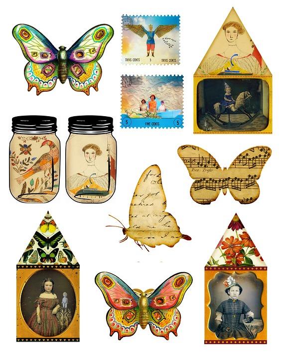 Collage Vintage Free Image On Pixabay