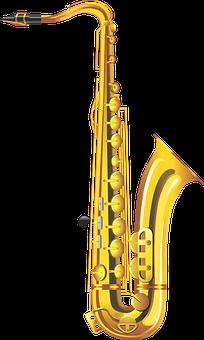 Saxophone, Musical Instrument