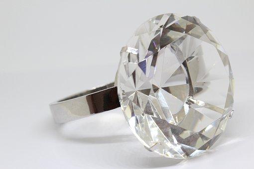 ジュエリー, ダイヤモンド, リング, ゴールド, ダイアモンドの指輪, 結婚