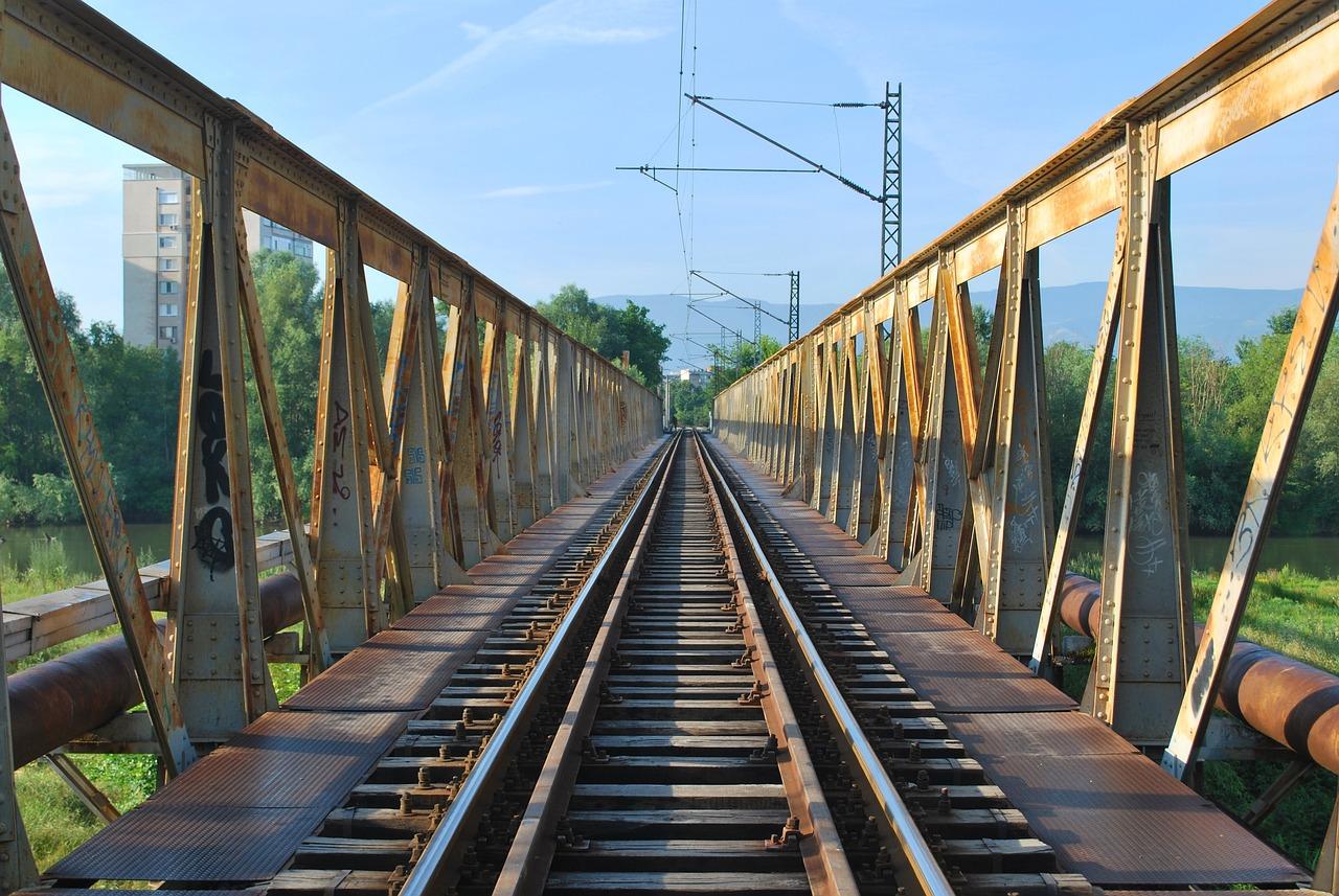 Картинки железная дорога мосты