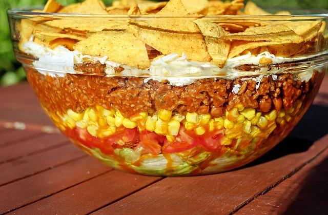 salat taco mexikanischer kostenloses foto auf pixabay. Black Bedroom Furniture Sets. Home Design Ideas