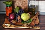 żywności, winogrona, cebula