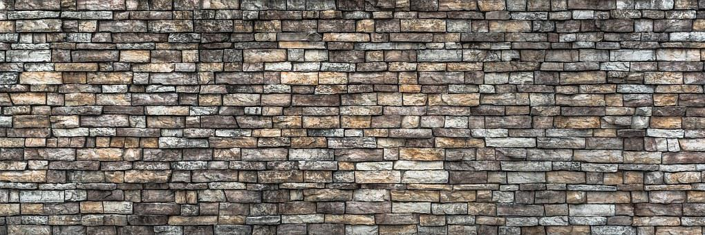 Wall, Stone Wall, Pattern, Texture, Grey