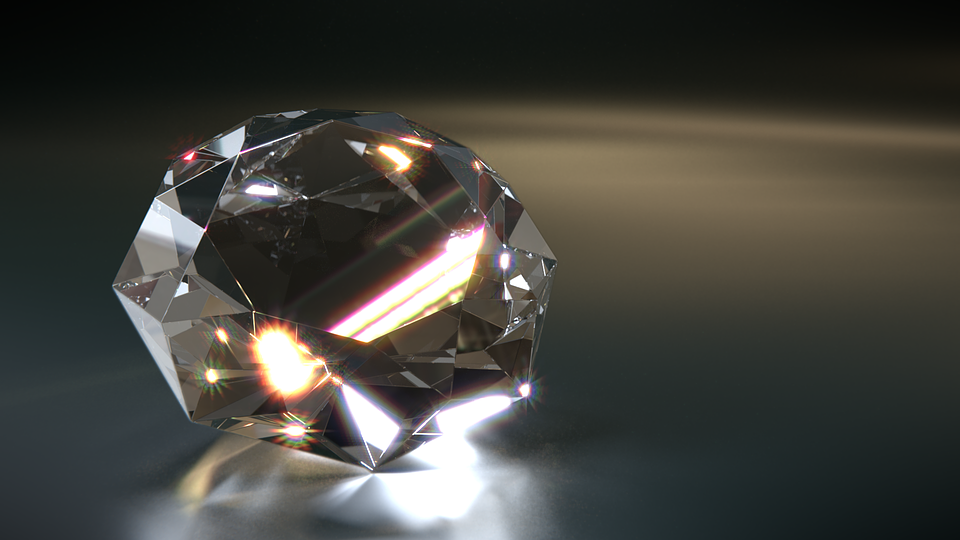 Diamant, Juweel, 3D, Sparkle, Glans, Gloed, Duur