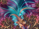 feather, fractal, artistic