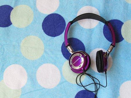หูฟัง, เพลง, ความบันเทิง, เสียง