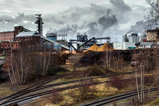 Industri, Lanskap Industri, Rel