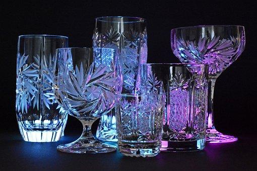 Crystal Glasses, Crystal, Glass