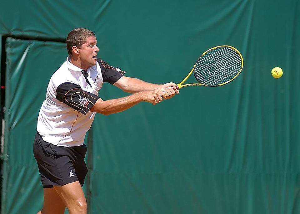 テニス, テニス プレーヤー, テニスの試合, 裁判所, ラケット, プレーヤー, スポーツ, 再生, ボール