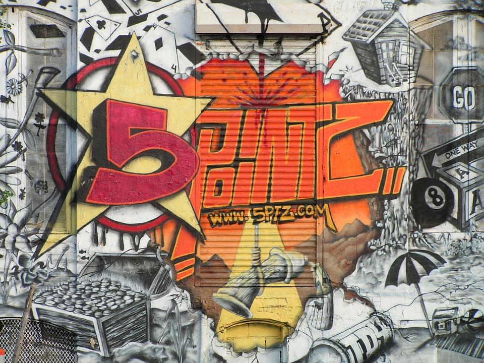 Graffiti zimmerwand graffitti gesicht 3d graffiti color - Graffiti zimmerwand ...