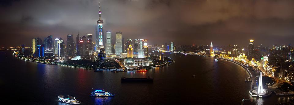 free photo shanghai pudong skyline china free image