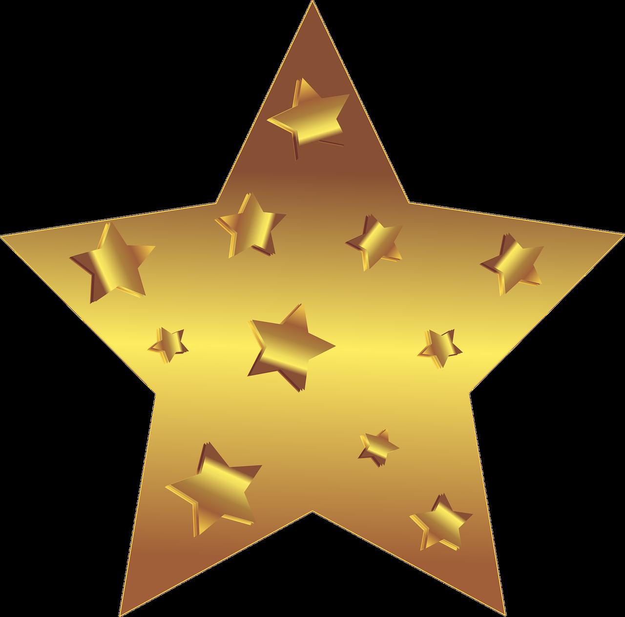 Открытка с звездочкой