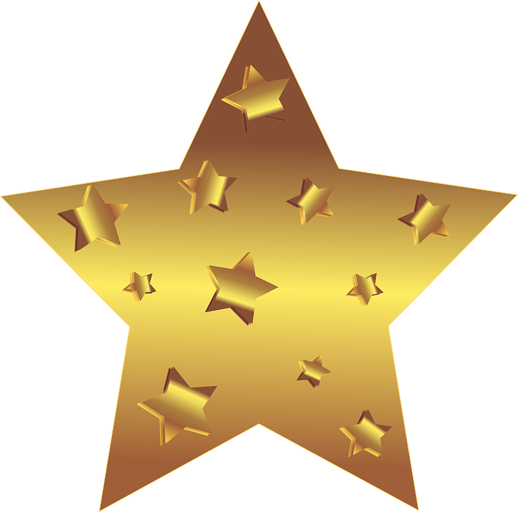 star gold stars free vector graphic on pixabay