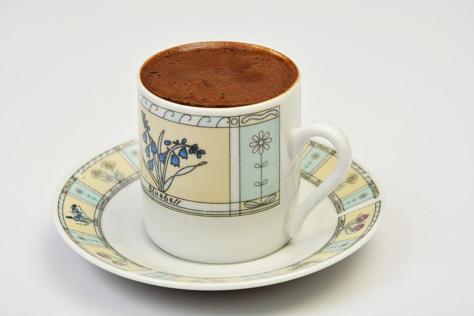 Türk Kahvesi, Fincan, Içecek
