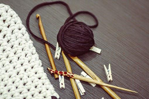 Crocheting, Yarn, Diy, Knitting