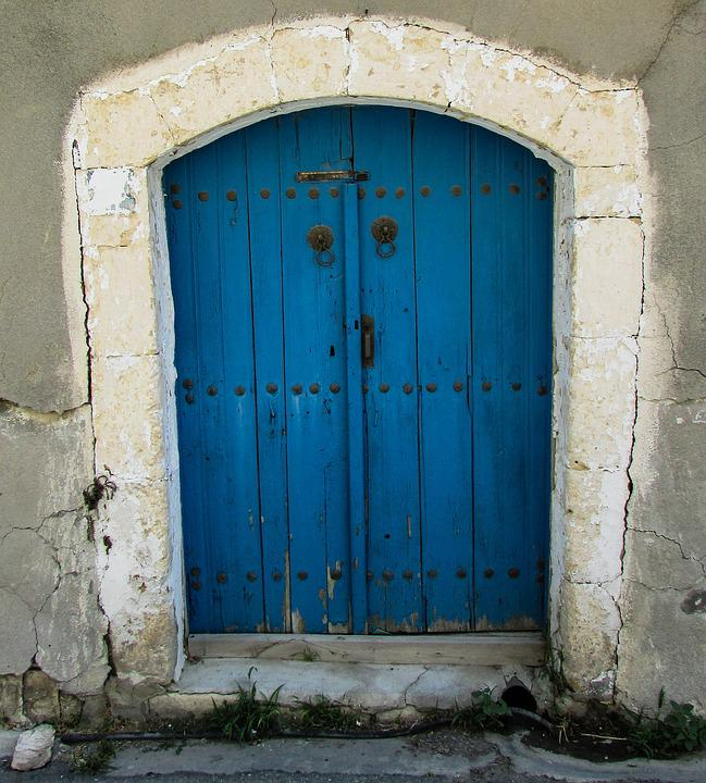 Cyprus, Aradippou, Old House, Door, Traditional