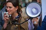megaphone, loud speaker, speaker