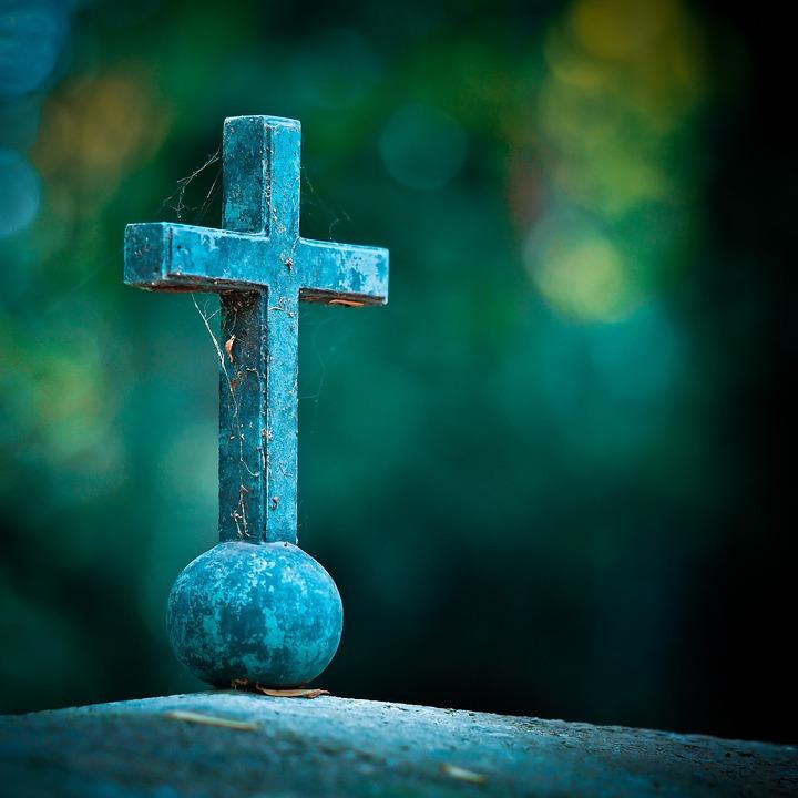 Free photo: Cross, Grave, Cemetery, Tombstone