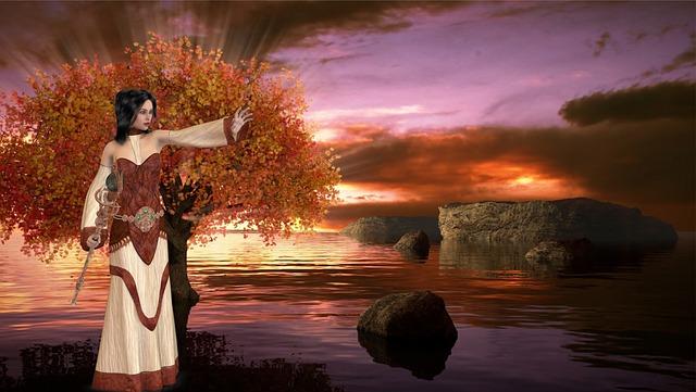 Fantasy Lady Magical 183 Free Image On Pixabay
