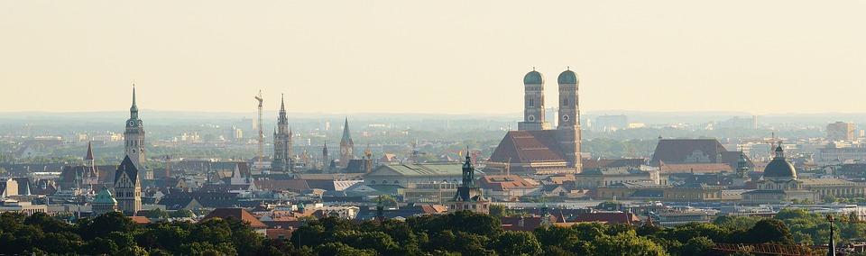 Monachium, Frauenkirche, Bavaria, Stan Kapitału, Miasta