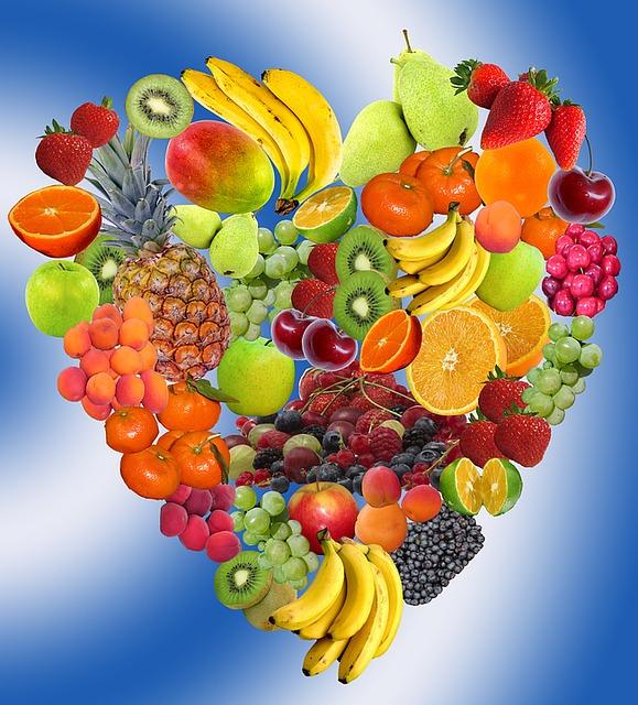 Hart Fruit Gezonde 183 Gratis Afbeelding Op Pixabay