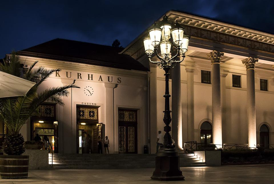 Kasino, Kurhaus, Baden Baden, Poker, Perjudian, Budaya