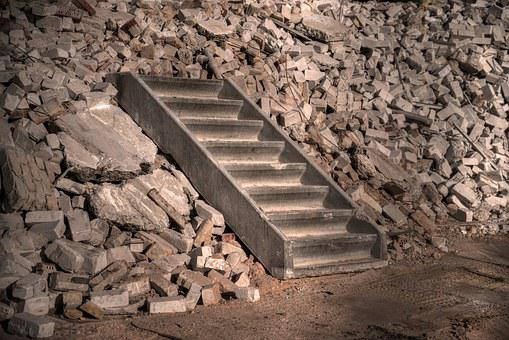 Stairs Concrete Construction Demolition St