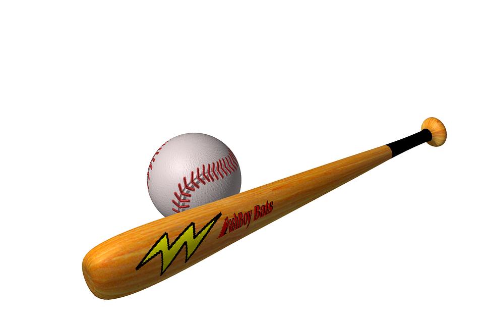 Batte et balle de baseball