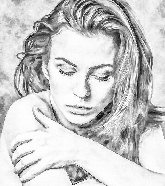 Resultado de imagen para mujeres en blanco y negro