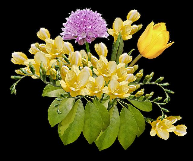 Flores Bouquet Posy Foto Gratis En Pixabay