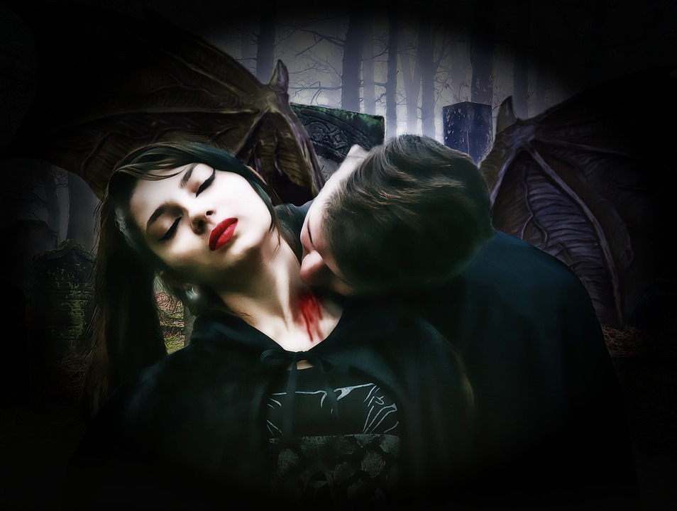 Gothic, Fantasy, Dark, Vampires, Couple, Death, Evil