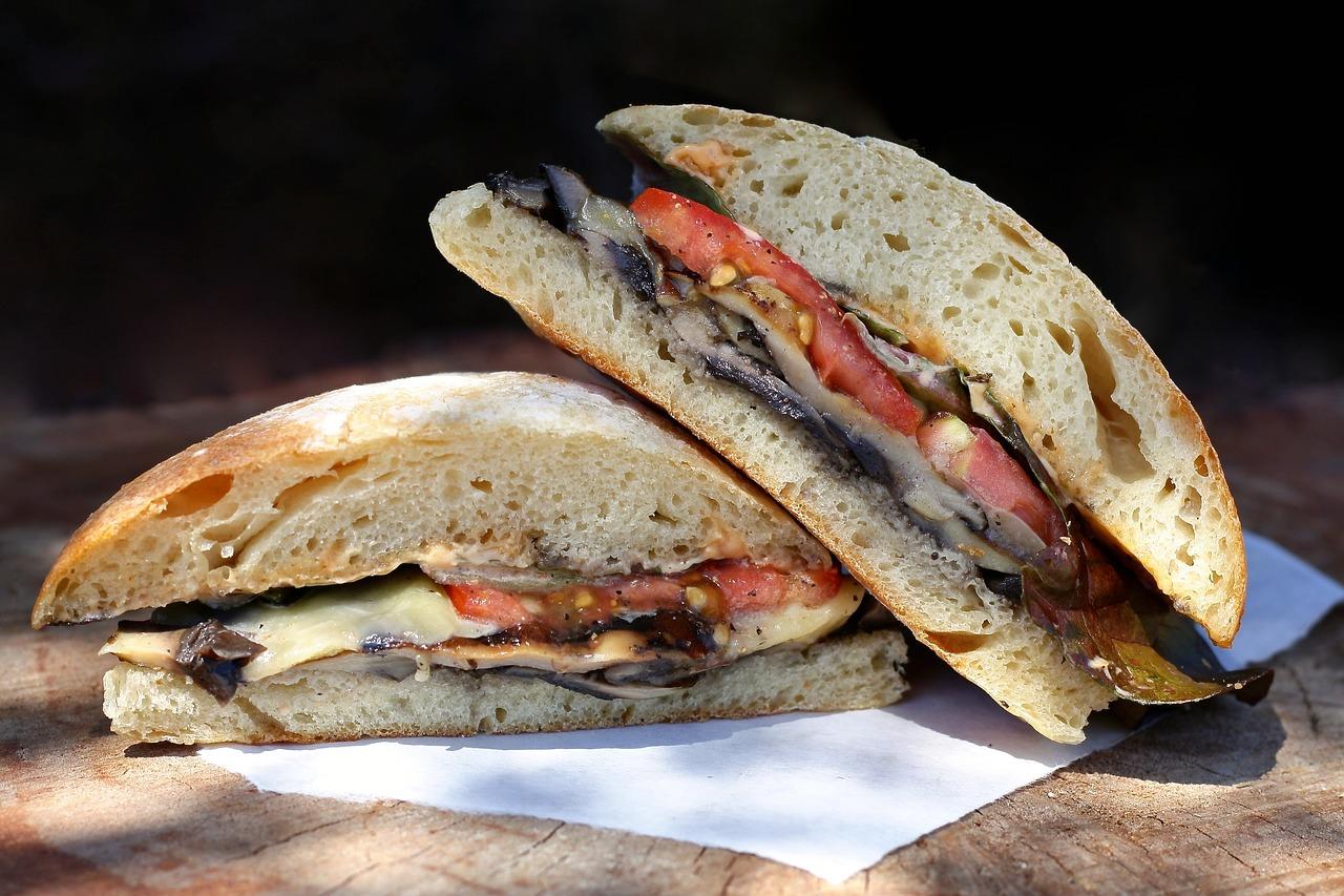 Roasted Vegetable Italian Subs Recipe
