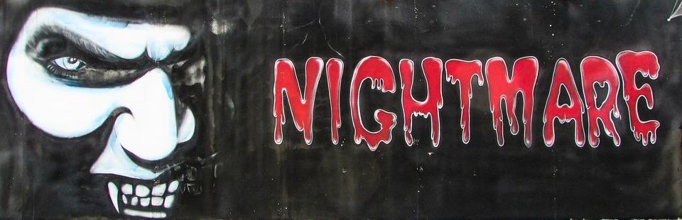 Nightmare, Scary, Horror, Fear, Dark, Creepy, Spooky