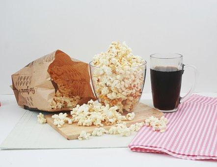 Snack Popcorn Cola Snack Popcorn Popc