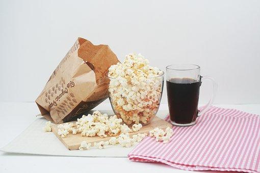 Snack Popcorn Cola Corn Popcorn Popco