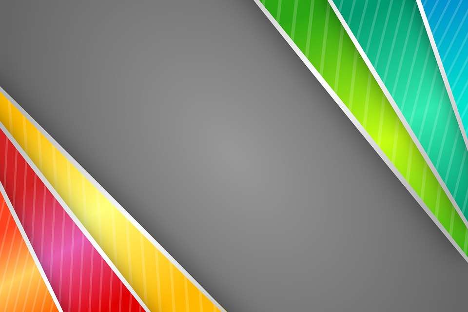 free illustration abstract border colorful strips free image