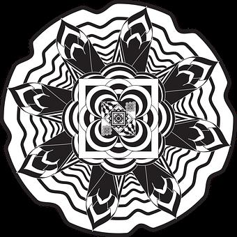 Mandalas, Fleurs Mandalas, Fleurs