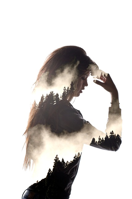 free photo portrait creative double exposure free