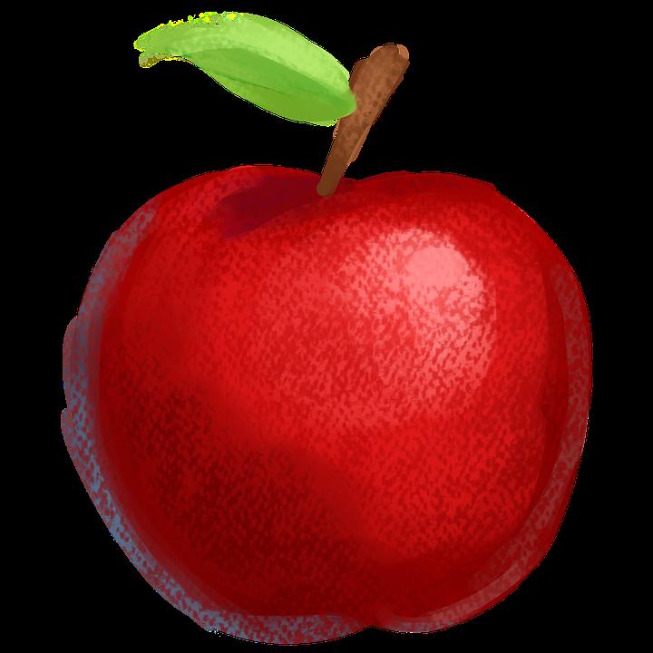 Elma Meyve Red Boya Pixabayde ücretsiz Resim