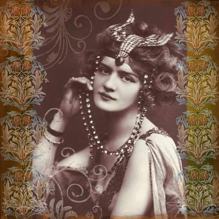 Vintage Lady Digital Art  Free Image On Pixabay-8236