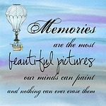 motivational, poster, memories