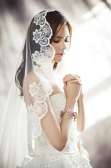 Wedding Dresses, Fashion, Bride, Veil