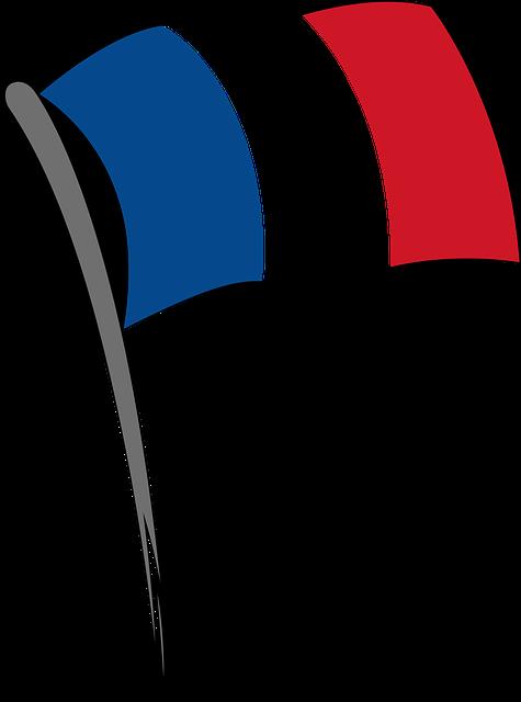 drapeau france bleu