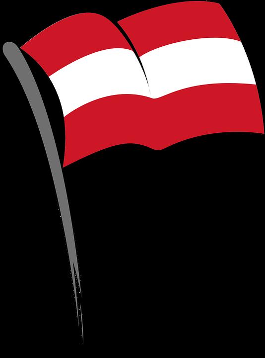 Fahne Flagge österreich Kostenlose Vektorgrafik Auf Pixabay