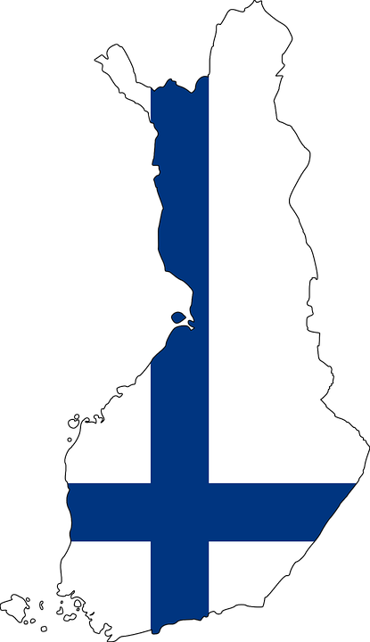 Finland Map Outline - Free image on Pixabay