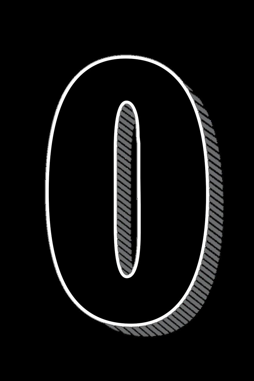 Numbers Zero 0 Drop Free Image On Pixabay