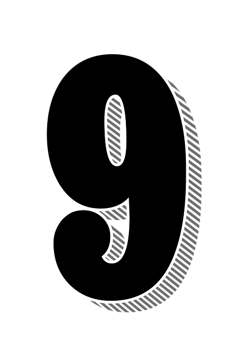 numbers nine 9 drop free image on pixabay