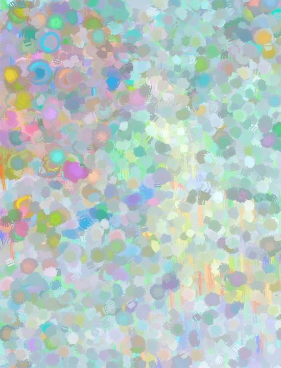Illustration Gratuite: Pointillisme, Peinture, Pastel - Image
