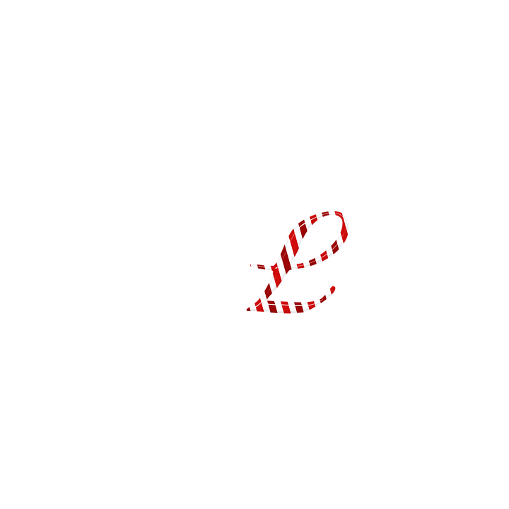 55ffd5f86a candycane letter l text candy cane christmas