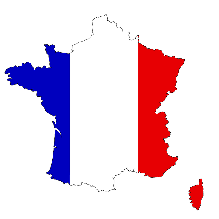 Map Of France And Corsica.France Corsica Map Free Image On Pixabay